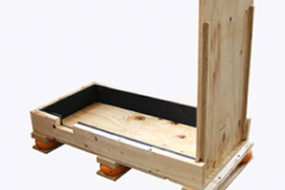 Protective Packaging Wooden Skid